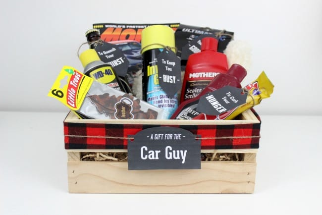 gift crates for guys car sports guys love create celebrate. Black Bedroom Furniture Sets. Home Design Ideas