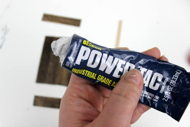 Get ready to glue- Power Tac is my go to glue of choice for projects like this