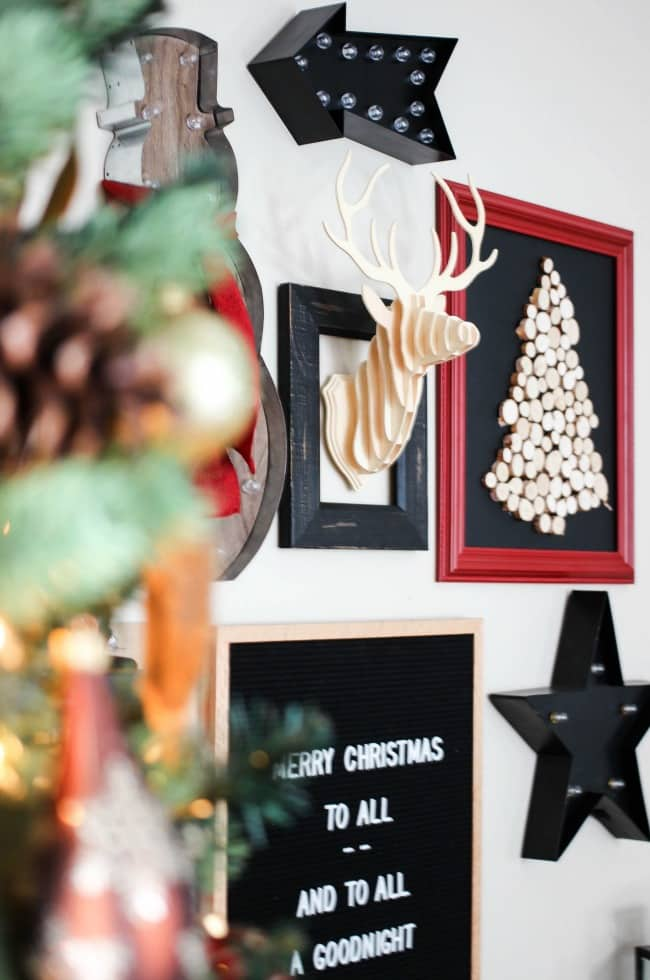 A beautiful rustic and industrial style Christmas Home Tour!