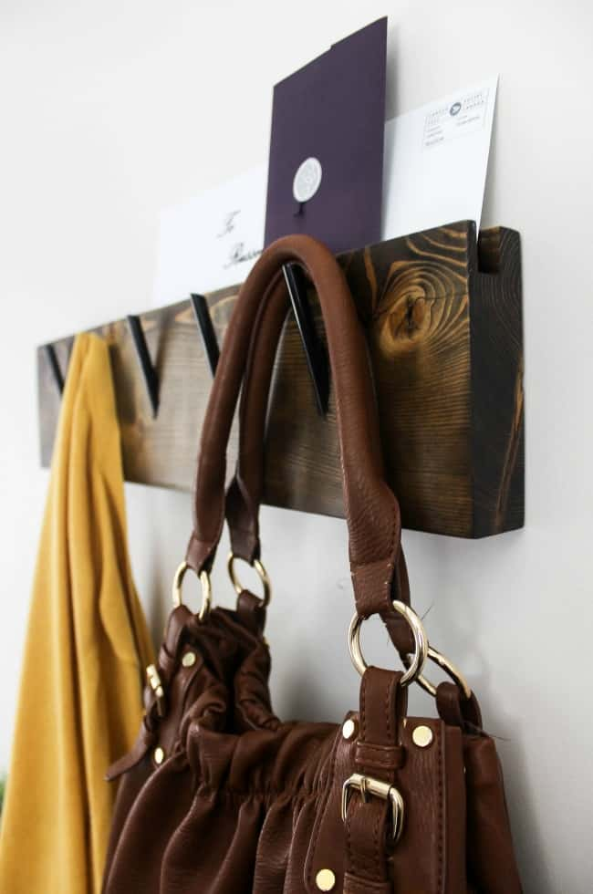 Make your own coat rack