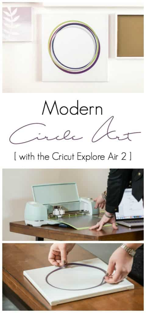 Create beautiful custom DIY artwork and home decor with the Cricut Explore Air 2!