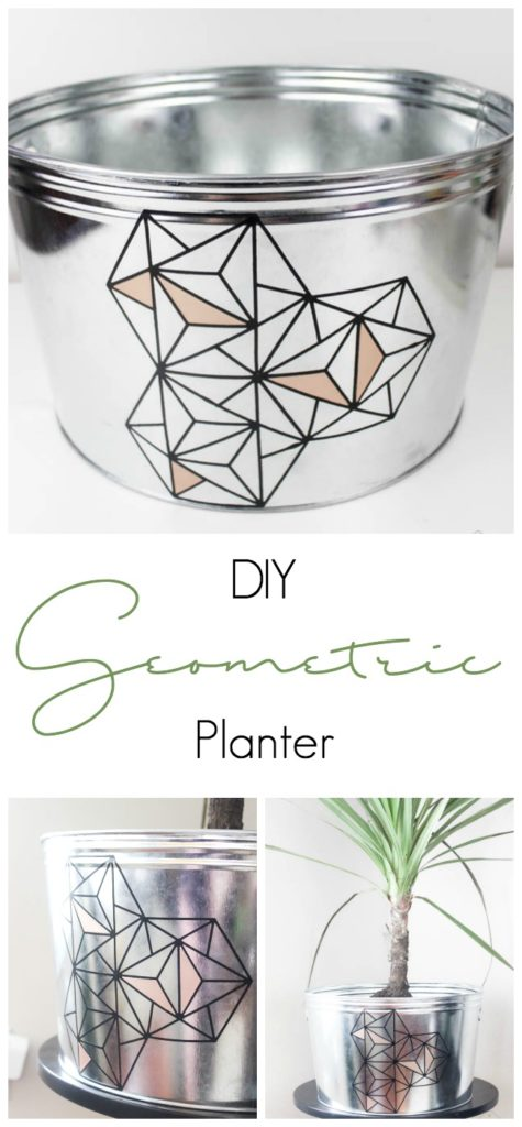DIY Geometric Planter - Love Create Celebrate