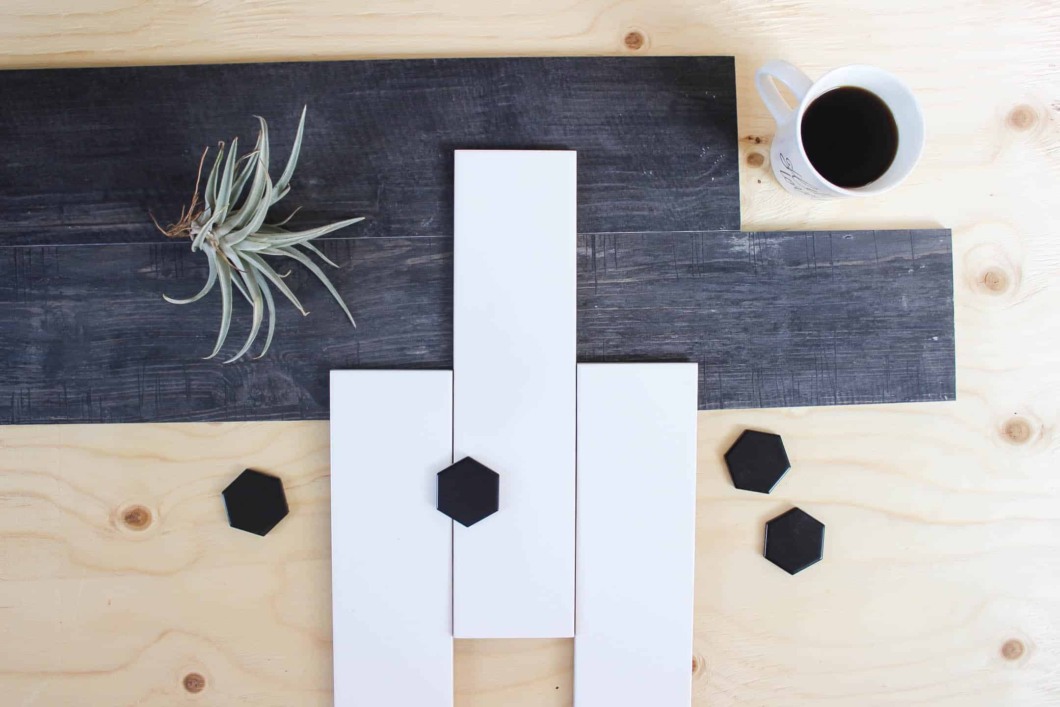 Make Your Own Modern Tiled Planters - Love Create Celebrate