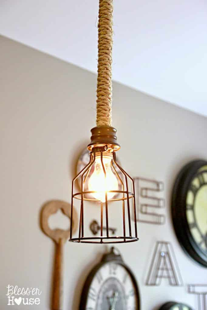 12 Amazing Diy Industrial Chic Light Fixtures Love