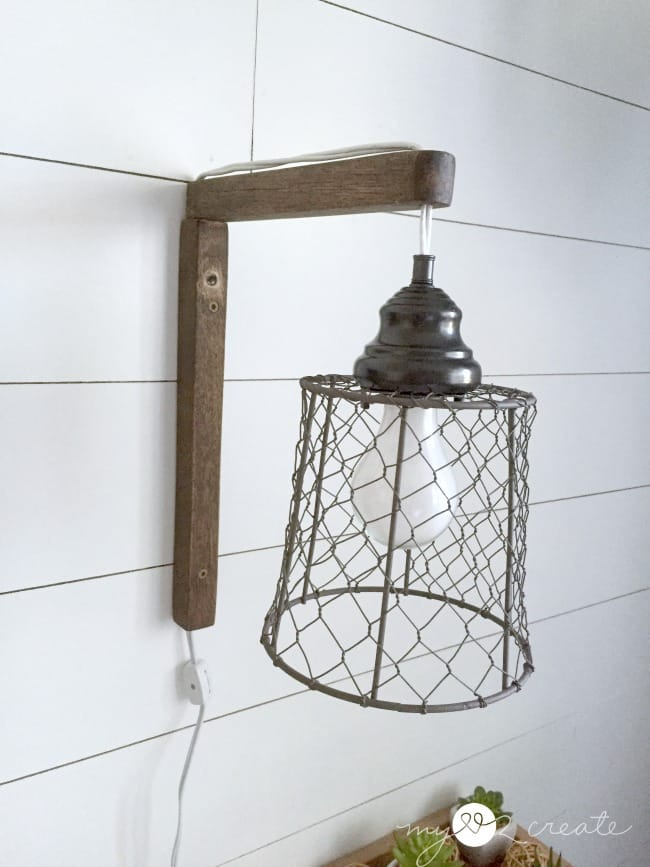 12 Amazing DIY Industrial Chic Light Fixtures - Love Create Celebrate