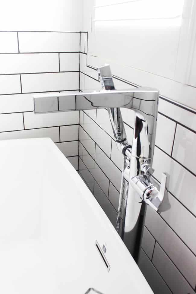 Our standing tub filler is a dream come true.