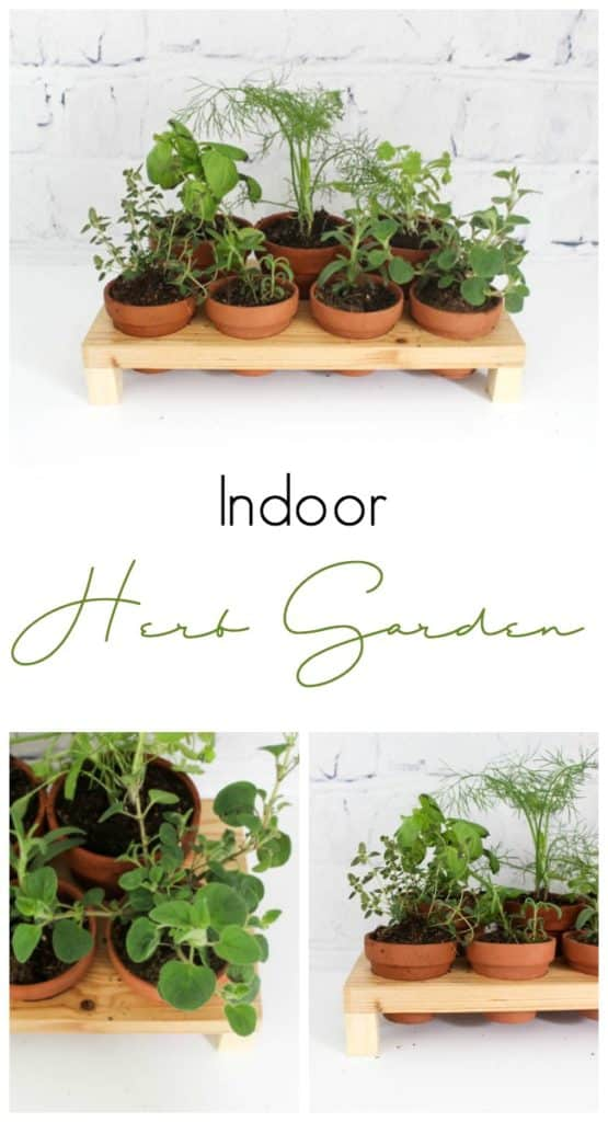 how to build your own indoor herb garden love create