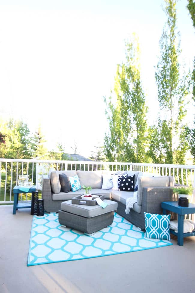 Brighten Up Your Boring Patio With Behr Paint Love