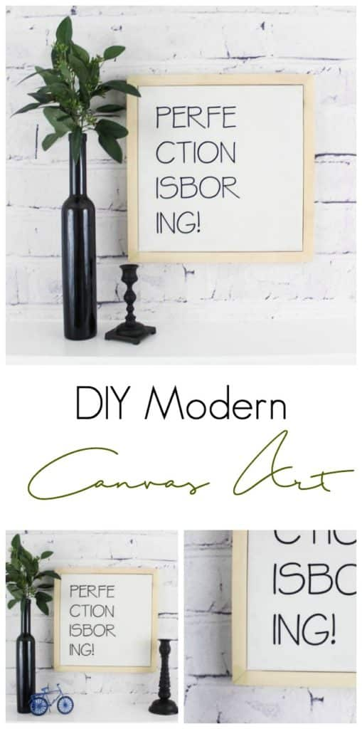 DIY Modern Canvas Art