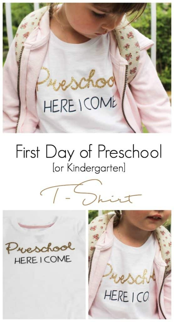 First Day of Preschool T-shirt