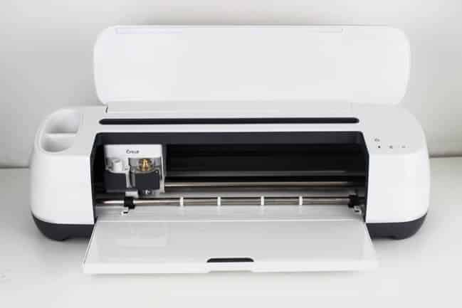 Cricut machine to create the pattern