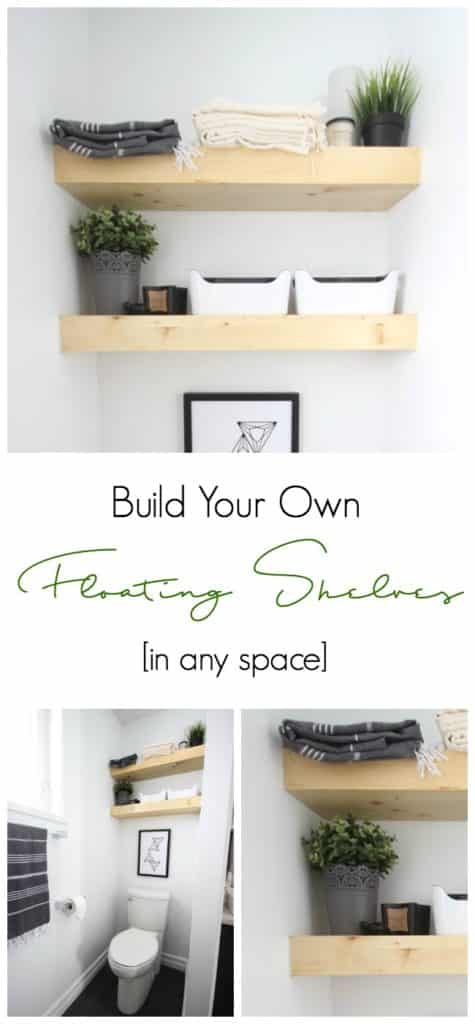 How To Build Your Own Floating Shelves Love Create Celebrate Simple Floating Shelves Mitre 10