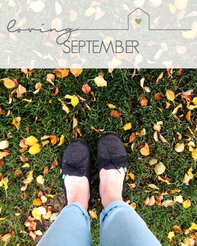 Sharing all of the reasons that we are loving September! A sneak peek into my life and activities outside of the blog. Come hear what we are up to!