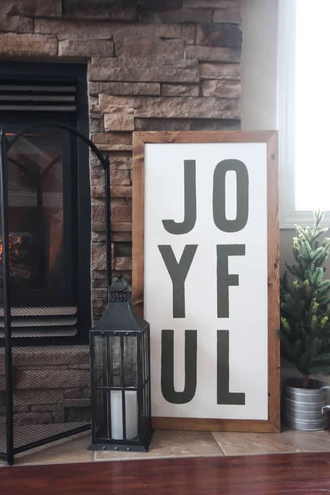 Custom Joyful Sign