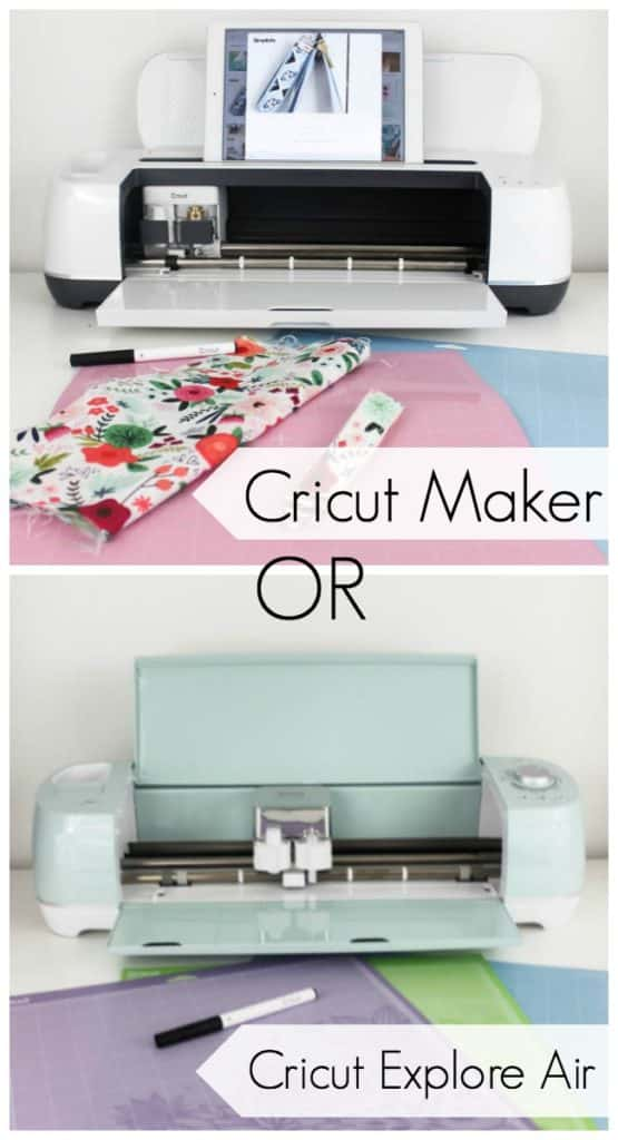 The Cricut Maker machine is the best machine to help you DIY the whole home. Review the Cricut Maker and compare it to the Cricut Explore Machines (Air & Air 2). The perfect tool for the beginner DIYer, with tons of great patterns, tutorials, and ideas!