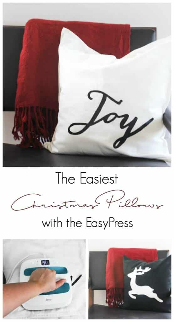 DIY Christmas pillows for the holiday season