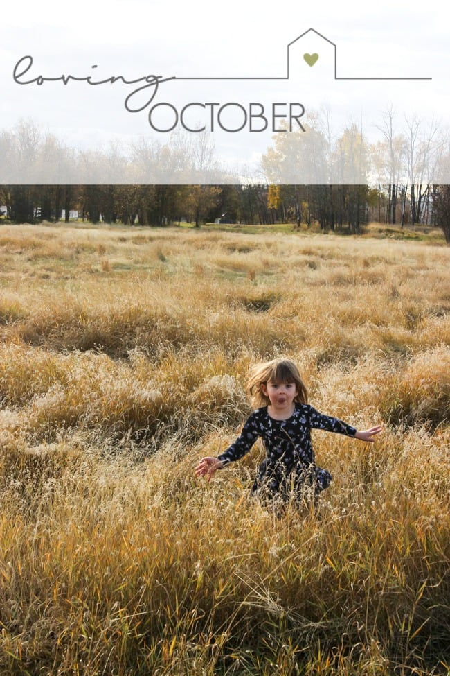 Sharing all of the reasons that we are loving October! A sneak peek into my life and activities outside of the blog. Come hear what we are up to!