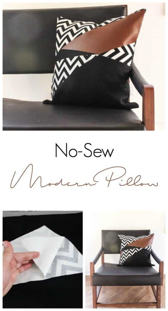 The perfect DIY for the modern home! This easy no-sew pillow cover comes with a great tutorial using the Cricut Maker. These square pillows would look beautiful on any couch or chair. Add some contemporary style to your home!