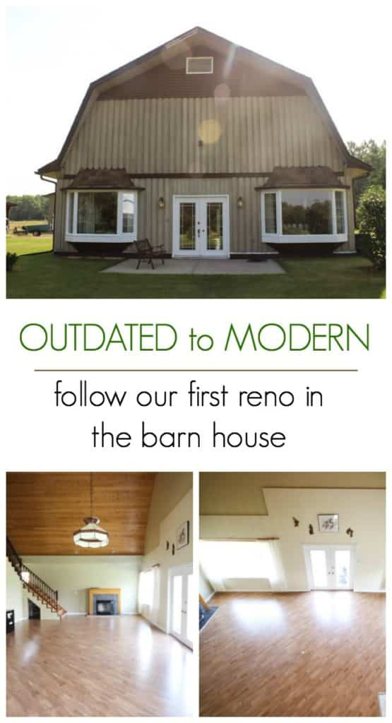 Great renovation plans to bring this home from outdated to modern and contemporary. Love the design plans and the potential in this beautiful barn home.