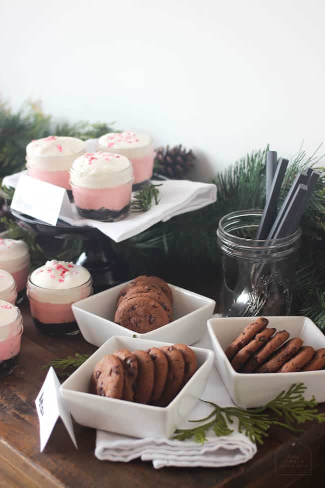 Create your own effortless coffee and dessert bar for the holidays.
