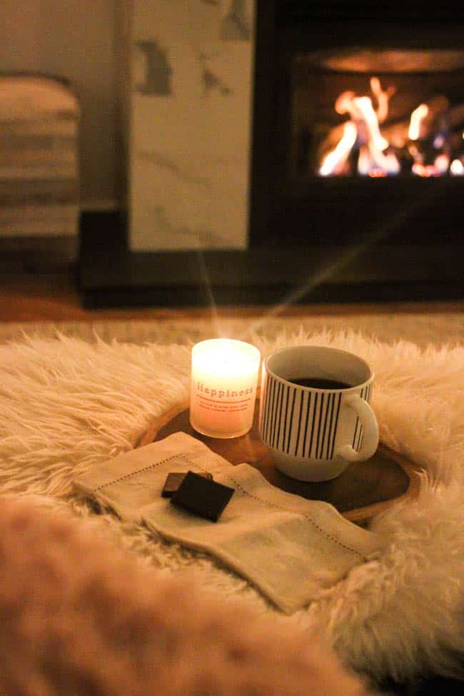 Sharing 5 ways to add hygge decor to your home. Create a warm, cozy, and safe environment to relax in with these great tips, and some stylish decor!