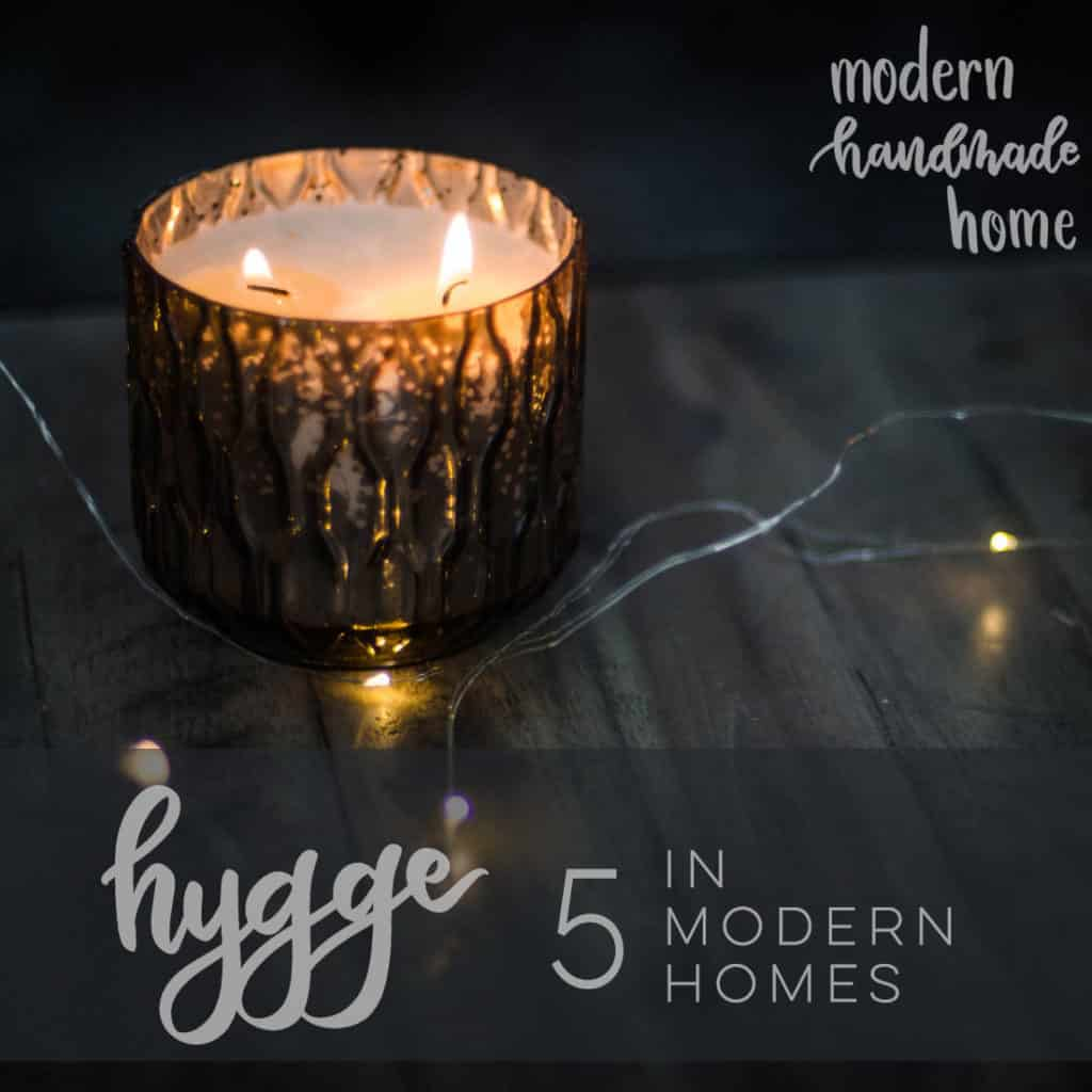 Beautiful hygge in modern homes!