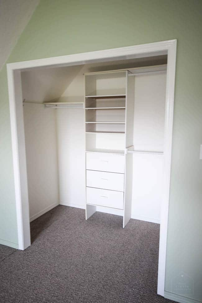 Beautiful Design Plans For Turning A Small Closet Into Functional Reach In