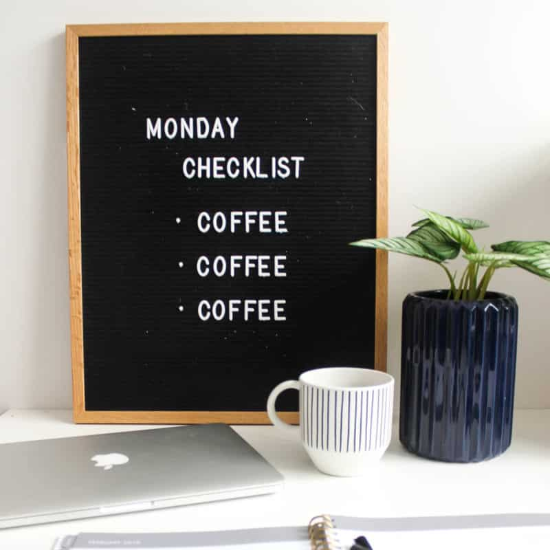 It can be hard to get going on a Monday morning! Here are 7 things that you can do regularly on the weekends to make sure you are ready for a productive Monday! Help maintain your work life balance!