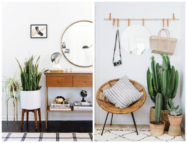 Gorgeous ideas to create a beautiful modern hallway. Five easy tips to spruce up your hallway, including tips on hallway lighting, rugs, flooring, and more!