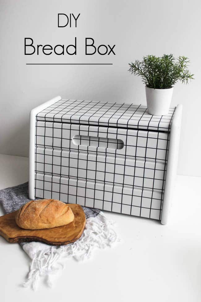 DIY bread box makeover
