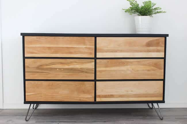 This thrifted dresser looks as good as new after a beautiful and easy DIY makeover