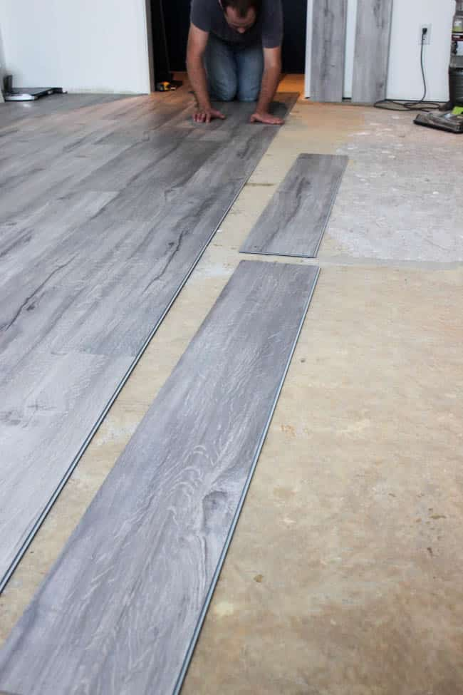 Transforming A Space By Installing Vinyl Plank Flooring Love
