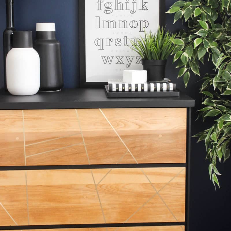 Beautiful DIY Dresser Makeovers! Take thrifted dressers, and turn them into something modern and new with a sander and the best paint for furniture! LOVE the hairpin legs!