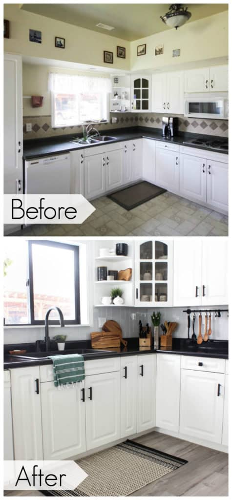 Wow This Stunning Modern Kitchen Was Transformed In Just One Weekend Love The Design