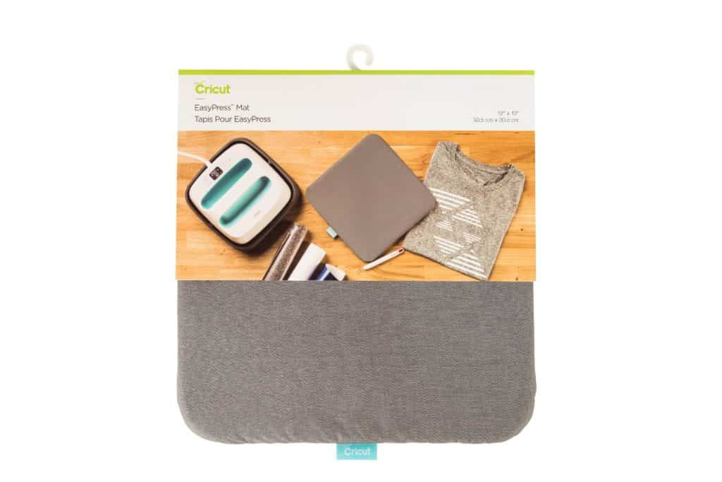 The Cricut EasyPress heat mat makes iron on decals a breeze to apply