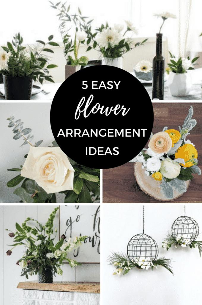Modern Flower Arrangements For Spring Love Create Celebrate