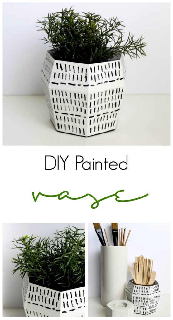 Diy Painted Vases Love Create Celebrate