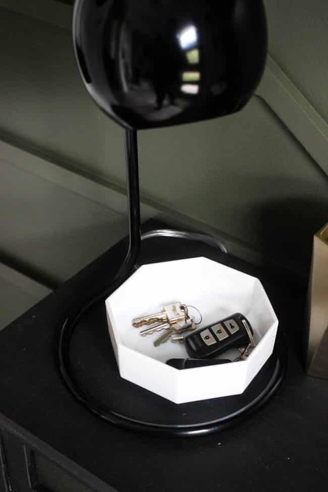 This dish is the perfect place to toss your keys so you'll never lose them