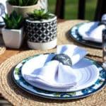 Outdoor Summer Dining