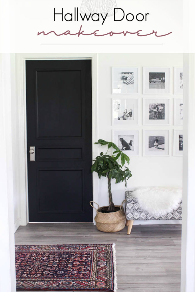 Ordinaire A Brand New Interior Door Design [to Complete Our Modern Hallway!]