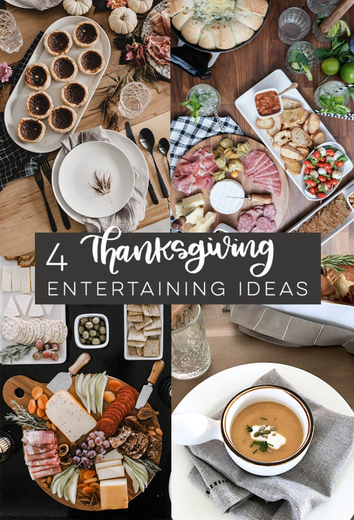 4 Thanksgiving Entertaining Ideas