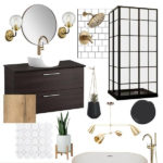 One Room Challenge {Week One} – Modern Bathroom Design