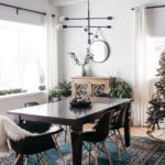 Minimal Holiday Kitchen & Dining Room Tour