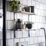 DIY Bathroom Shelves [How to Drill Into Tile]