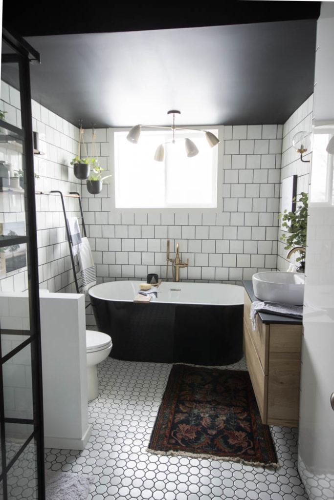 Modern Bathroom Reveal - Love Create Celebrate