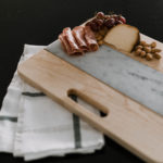 Wood & Marble Cutting Board