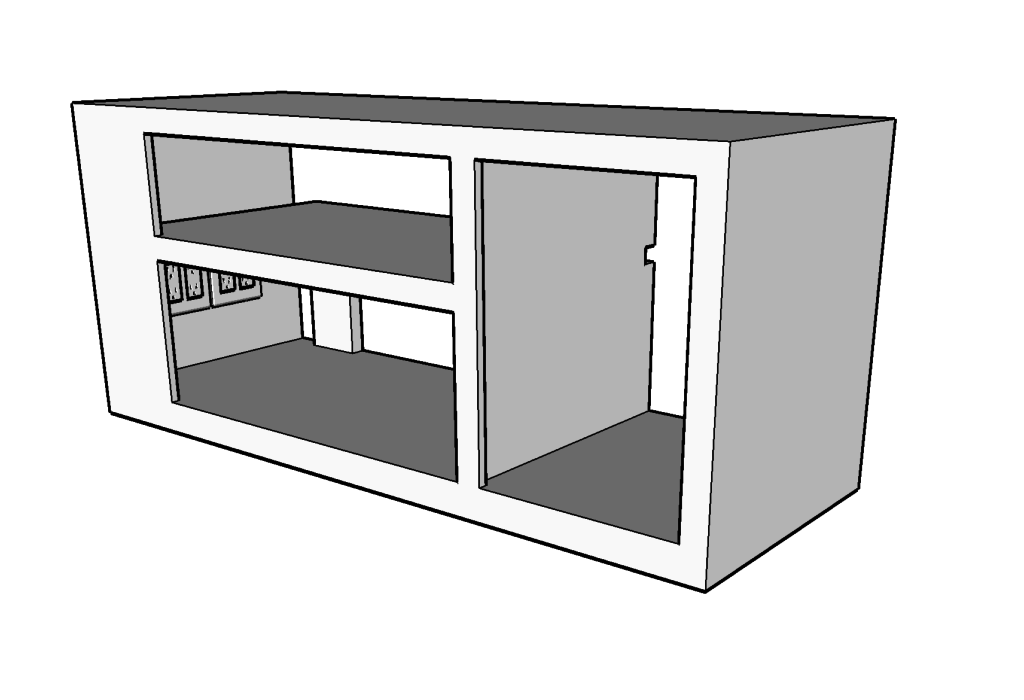 build plans for bench seat to hide electronics