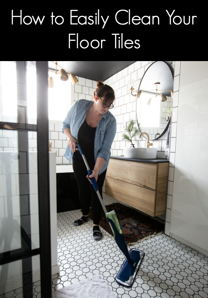 The Best Tile Floor Cleaner We Ve Used For Our White Bathroom