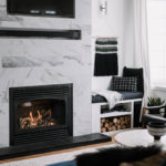 How to Build Your Own Fireplace Surround [& Hide TV Wires]