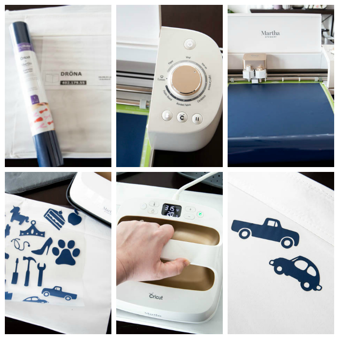 Using the Cricut Explore Air 2 to Iron labels onto bins
